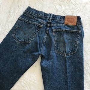 Vintage | Levi's 505 High Waisted Mom Ankle Jeans